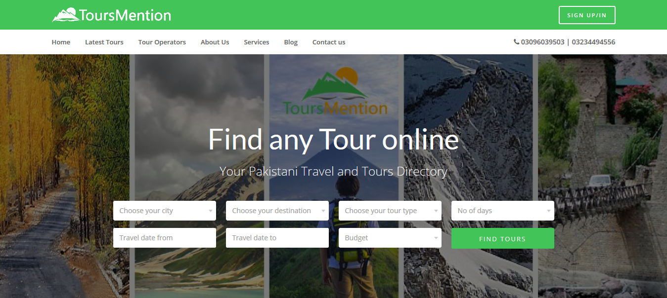 ToursMention - Shafi Technologies