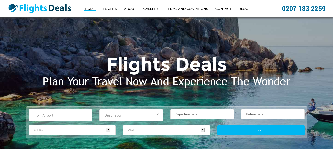 Flight Deals - Shafi Technologies
